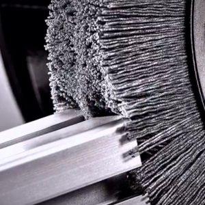 Cepillo para rebabeo de nylon abrasivo